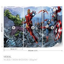 wall decor marvel wall mural pictures the avengers walltastic cool marvel comics mural wall graphic wall mural photo wallpaper marvel comic heroes photo wall mural