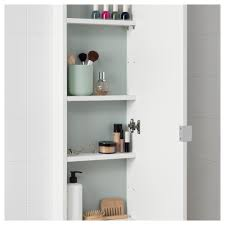 shallow wall cabinets with doors lillången wall cabinet with 1 door white 30x12x125 cm ikea