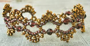free bead bracelet patterns images Linda 39 s crafty inspirations free beading pattern dime store bracelet jpg