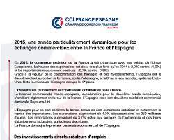chambre de commerce franco espagnole espagne 2015 une ée particulièrement dynamique pour les
