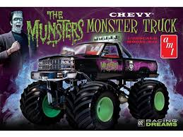bigbadtoystore 1 25 scale munsters chevy truck model kit