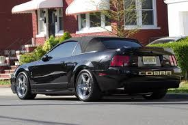 2003 Black Mustang Sell Used 2003 Ford Mustang Cobra Svt Black Convertible In