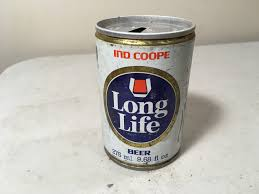vintage collectible beer can garage basement collection long life