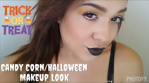 candy corn halloween makeup look ft younique youtube