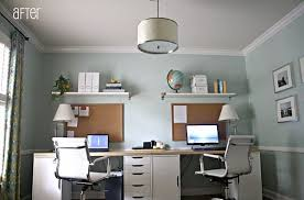 two home 16 home office desk ideas for two desks office desks and diy