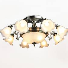 inexpensive ceiling lights with 11 light white shade