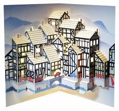 forever handmade cards pop ups pop114 tudor houses