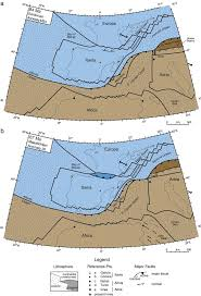 Map Of Tectonic Plates Recoiling Plate Tectonic Reconstructions Of Alpine Tethys With The