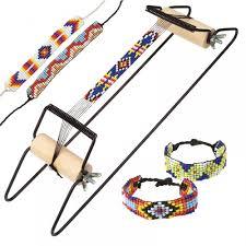 beaded bracelet kit images Native american bead bracelet loom kit craftyarts co uk jpg