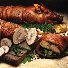 cuisine de cochon cochon de lait farci cuisine médiévale cochon de