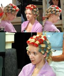 husband forced to sleep in hair rollers pin by zsófia pink on hair rollers and curlers pinterest hot