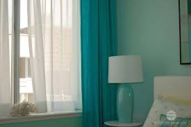 Drapery Sheer Fabric Curtains Light Filtering Privacy Bedroom