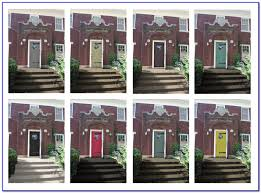 Front Door Paint Colors by Front Door Paint Colors Red Brick House Painting Home Design