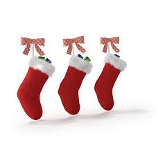 christmas socks christmas socks 25 am88 archmodels max obj c4d fbx 3d model