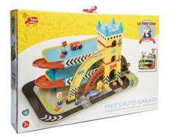 le toy van mike u0027s auto garage wooden toy garage tv420 69 99