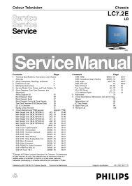 manual de serviço televisor philips 19pfl5522d 12 chassis lc7 2e