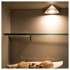 Under Cabinet Light by Sensio Triangle Light Lv 20w Stainless Steel Under Cabinet Light