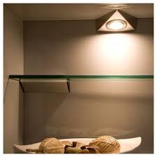 under cabinet lights sensio triangle light lv 20w stainless steel under cabinet light