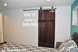 how to make a barn door bexbernard