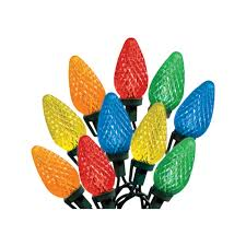 celebrations led 75 multi color c9 indoor outdoor lights 47736 71