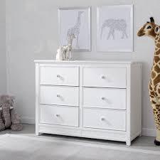 delta changing table dresser delta children bennington elite 6 drawer dresser white babies r us