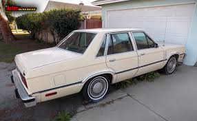 amazing two door garage 2 1978 83 mercury zephyr 4 door sedan rr
