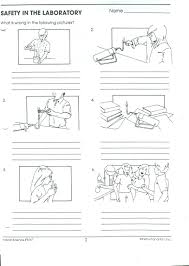 safety in the lab worksheet free worksheets library download and