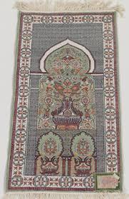 Tunisian Rug A Tunisian Silk Prayer Rug 03 30 12 Sold 138