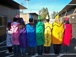 crayons halloween costume 12 awesome diy halloween costumes from our own wonderful readers