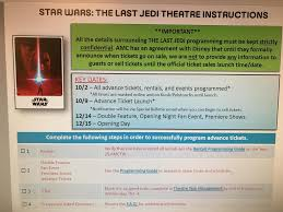 opening night fan event star wars the last jedi star wars the last jedi tickets on sale 10 9 with fan event and