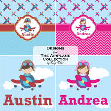 airplane theme for girls bath mat personalized potty