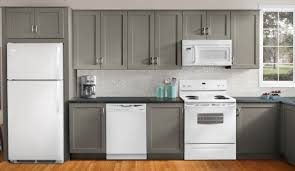 Grey Kitchen Cabinets With Granite Countertops by Kitchen Appliance Package Deals Costco Grey Kitchen Cabinet Grey