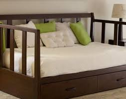 daybed daybeds with trundle and storage rustic daybed wooden