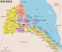 africa map eritrea eritrea maps maps of eritrea