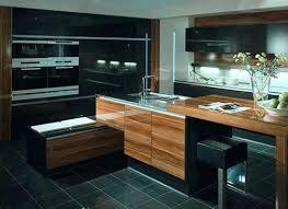 cuisine avec electromenager inclus cuisine avec electromenager cuisine bois massif ouvrant en verre