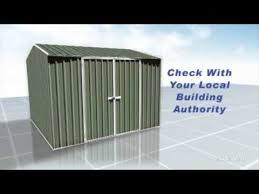 Absco Awning Absco Sheds How To Series Premier Shed General Instructions