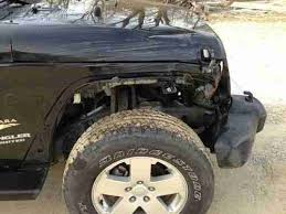 wrecked jeep wrangler for sale purchase used 2010 jeep wrangler 4 door 4x4 salvage wrecked