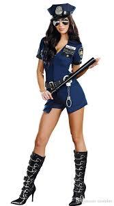 Yugioh Halloween Costume Pretty Selling Blue Halloween Costume Policewoman