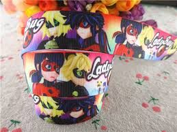 ladybug ribbon 16100709 new arrival 1 25mm 5 yards printed grosgrain