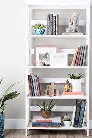 how to decorate shelves u0026 bookcases overstock com