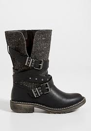 Rugged Boots For Women Women U0027s Boots Faux Suede And Leather Boots Maurices