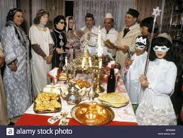 esther purim costume family in their traditional moroccan costume celebrate purim
