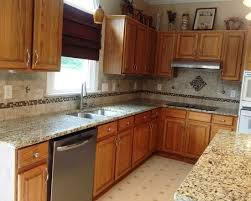 Exotic Kitchen Cabinets Beautiful Kitchen Design Use Wooden Medium Colored Cabinet And