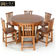 Dining Table And Six Chairs Solid Wood Dining Table Elkar Club