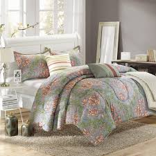 chic home carlton 6 piece comforter set queen size taupe