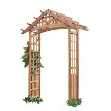 wedding arches home depot wood arbors arbors trellises the home depot