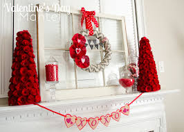 s day decorations 12 lovely s day decorations mantels mantle and decoration