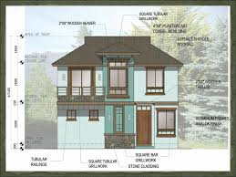 asian style house plans classy ideas small house design plan philippines 8 asian dream home