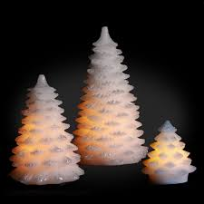 christmas tree led candles pack of 3 kequ world