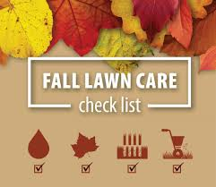 thanksgiving check list fall lawn care check list turf care supply corporation